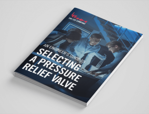 An Engineer's Guide to Selecting a Pressure Relief Valve
