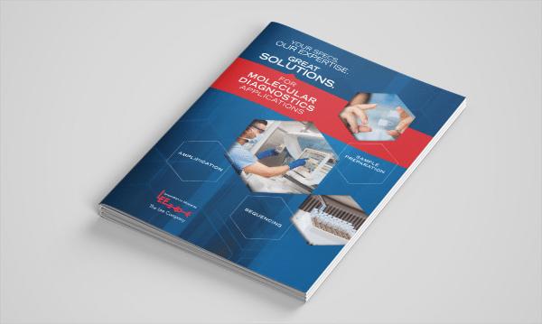 Mockup - Molecular Diagnostics Brochure