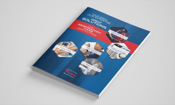 Mockup - Respiratory Care Brochure